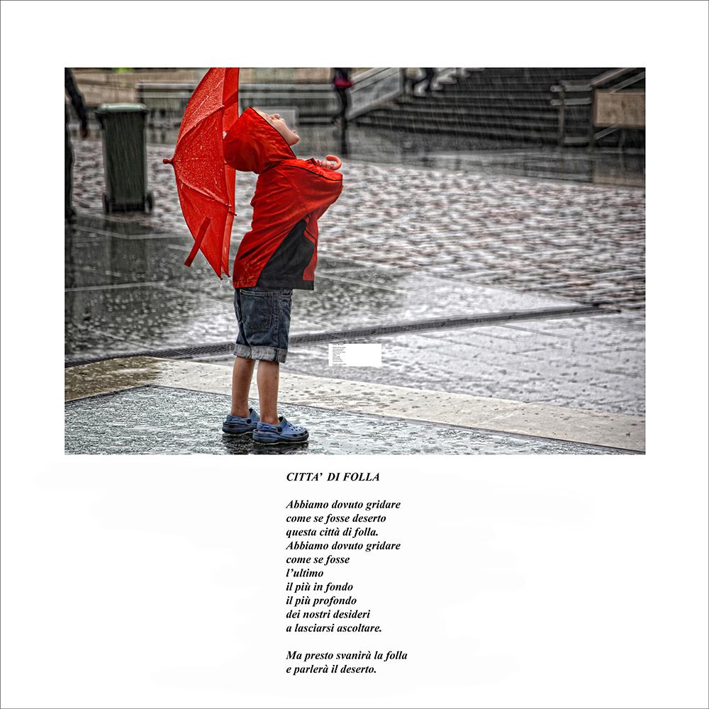 Luci dal suono di giorni passati mario ristori for Sotto la pioggia ombrelli